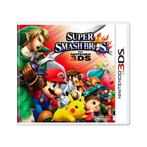Jogo Super Smash Bros - 3DS