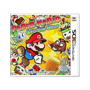 Jogo Paper Mario: Sticker Star - 3DS