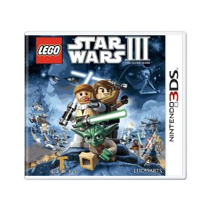 Jogo LEGO Star Wars III: The Clone Wars - 3DS