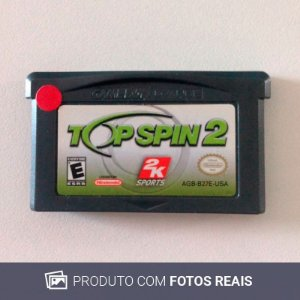 Jogo Top Spin 2 - GBA Game Boy Advance