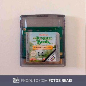 Jogo The Jungle Book: Mowgli's Wild Adventure - GBC