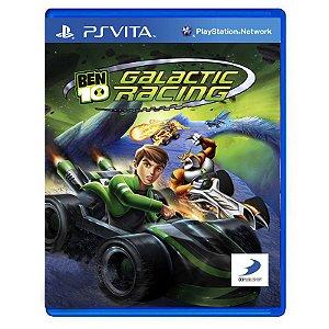 Jogo Ben 10 Galactic Racing - PS Vita