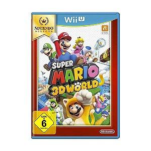 Jogo Super Mario 3D World - Wii U (Europeu)