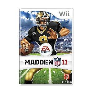 Jogo Madden NFL 11 - Wii