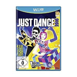 Jogo Just Dance 2016 - Wii U (Europeu)