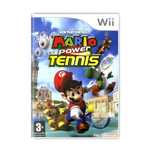 Jogo Mario Power Tennis - Wii (Europeu)