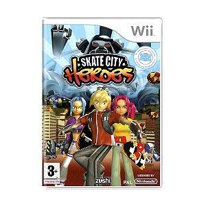 Jogo Skate City Heroes - Wii (Europeu)