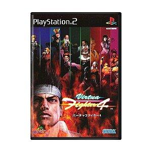 Jogo Virtua Fighter 4 - PS2 (Japonês)