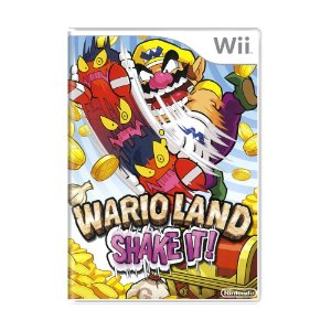 Jogo Wario Land: Shake It! - Wii (Lacrado)