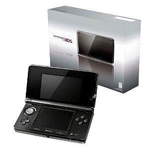 Console Nintendo 3DS Cosmo Black - Nintendo