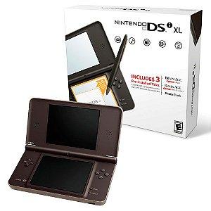 Console Nintedo DSi XL Marrom - Nintendo