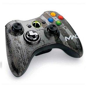 Controle Microsoft Edição Especial Call of Duty Modern Warfare 3 sem fio - Xbox 360