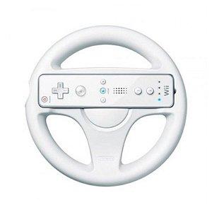 Volante para Nintendo Wii Branco - Wii