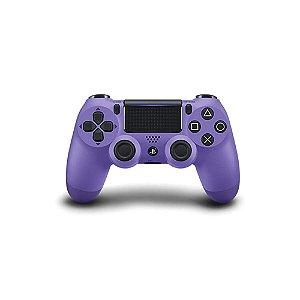 Controle Sony Dualshock 4 Roxo Eletrico sem fio - PS4