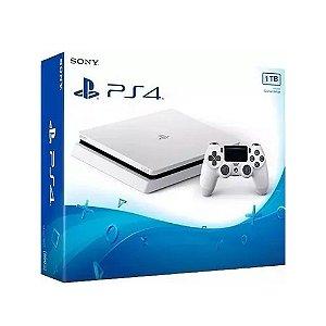 Console PlayStation 4 Slim 1TB Branco - Sony