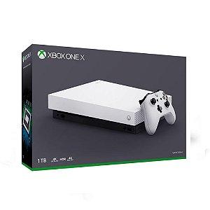 Console Xbox One X Branco (Edição Especial) 1TB - Microsoft