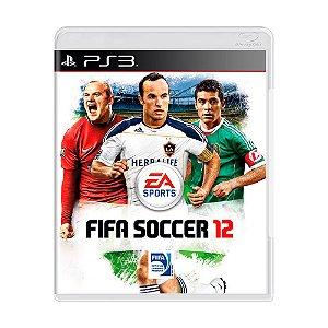 Jogo FIFA Soccer 12 - PS3