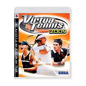Jogo Virtua Tennis 2009 - PS3