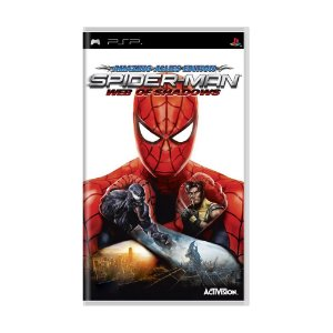 Jogo Spider-Man Web of Shadows - PSP