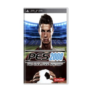 Jogo Pro Evolution Soccer 2008 (PES 08) - PSP