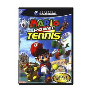 Jogo Mario Power Tennis - GameCube