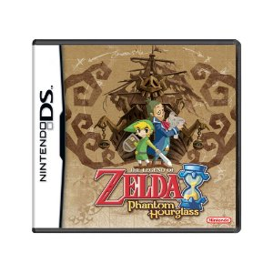 Jogo The Legend of Zelda: Phantom Hourglass - DS