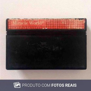 Jogo Alex Kidd In: Miracle Wolrd - Master System