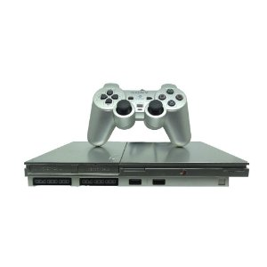 Console PlayStation 2 Slim Prata - Sony