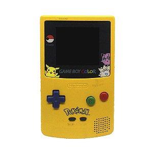 Console Game Boy Color Amarelo (Edição Pokémon) - Nintendo