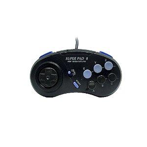 Controle Super Pad 8 - Sega Saturn
