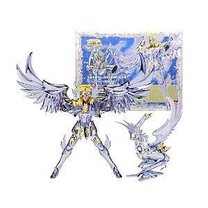 Action Figure Cygnus Hyoga (Saint Seiya Cloth Myth - God Cloth) - Bandai