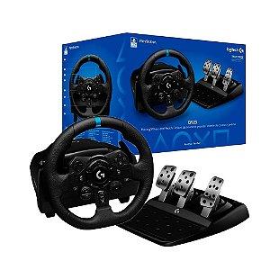Volante Logitech G923 True Force - PS4, PS5 e PC