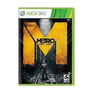 Jogo Metro Last Light - Xbox 360