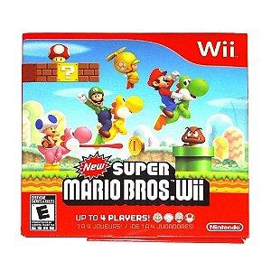 Jogo New Super Mario Bros - Wii (Capa Dura)