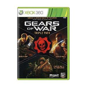 Jogo Gears of War: Triple Pack - Xbox 360