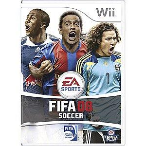 Jogo FIFA Soccer 08 - Wii