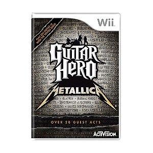 Jogo Guitar Hero Metallica - Wii