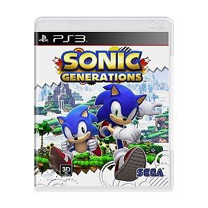 Jogo Sonic Generations - PS3