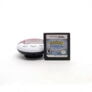 Jogo Pokémon Soul Silver Version + Pokéwalker - DS