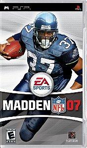 Jogo Madden NFL 07 - PSP