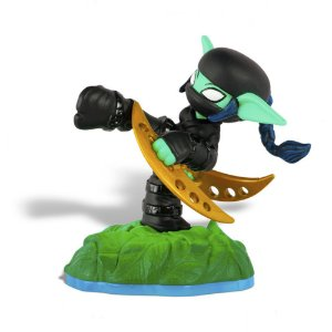 Boneco Skylanders Swap Force: Stealth Elf