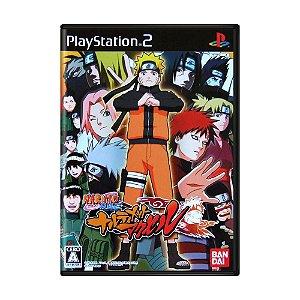 Jogo Naruto Shippuden: Narutimate Accel - PS2 (Japonês)