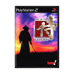 Jogo Way of the Samurai - PS2