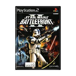 Jogo Star Wars Battlefront II - PS2