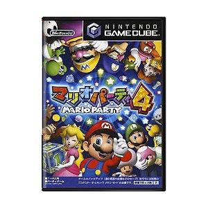 Jogo Mario Party 4 - GameCube (Japonês)