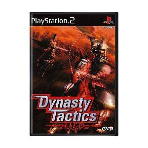 Jogo Dynasty Tactics - PS2