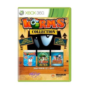 Jogo Worms Collection - Xbox 360