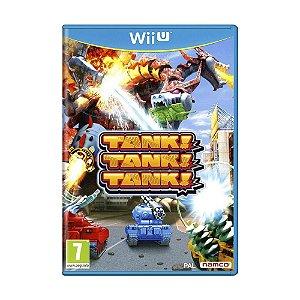 Jogo Tank! Tank! Tank! - Wii U (Europeu)