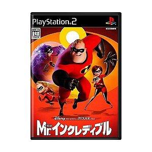 Jogo The Incredibles - PS2 (Japonês)