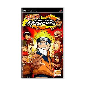 Jogo Naruto Ultimate Ninja Heroes - PSP